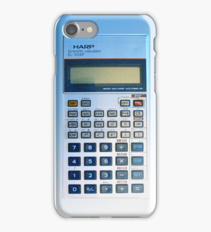 Sharp Scientific Calculator iPhone Case