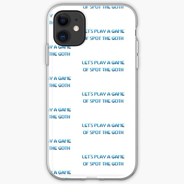 Cal Quotes iPhone Soft Case
