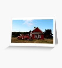 Old firehouse Greeting Card