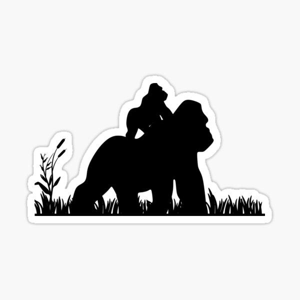 Gorillas Sticker