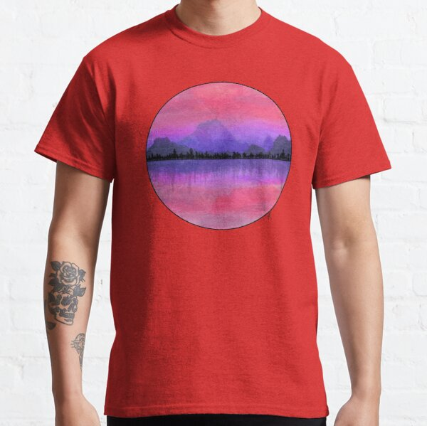 Neon Sunset Classic T-Shirt