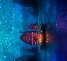 Secret Harbor, Vertical by Aimee Stewart