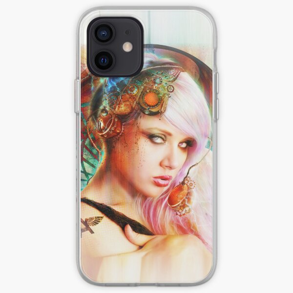 Astrid the Steampunk Navigatrix iPhone Soft Case