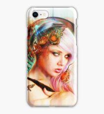 Astrid the Steampunk Navigatrix iPhone Case/Skin