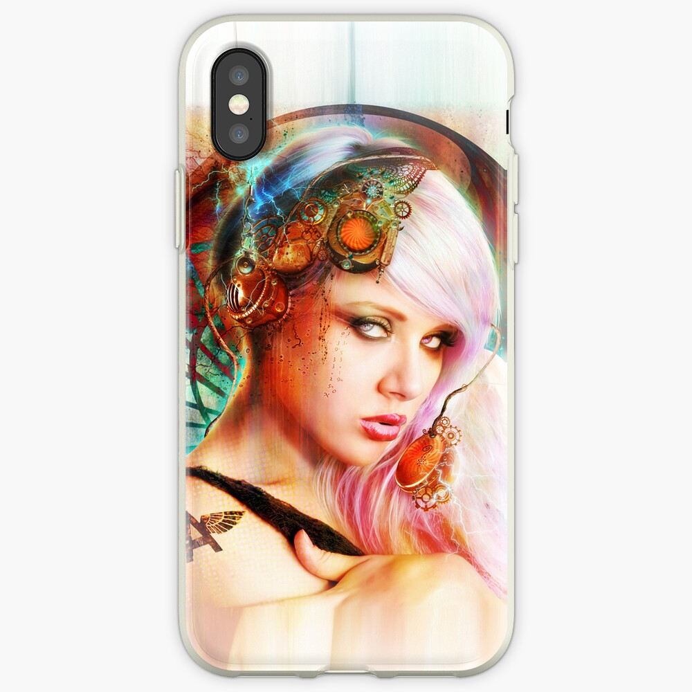 Astrid the Steampunk Navigatrix iPhone Cases & Covers