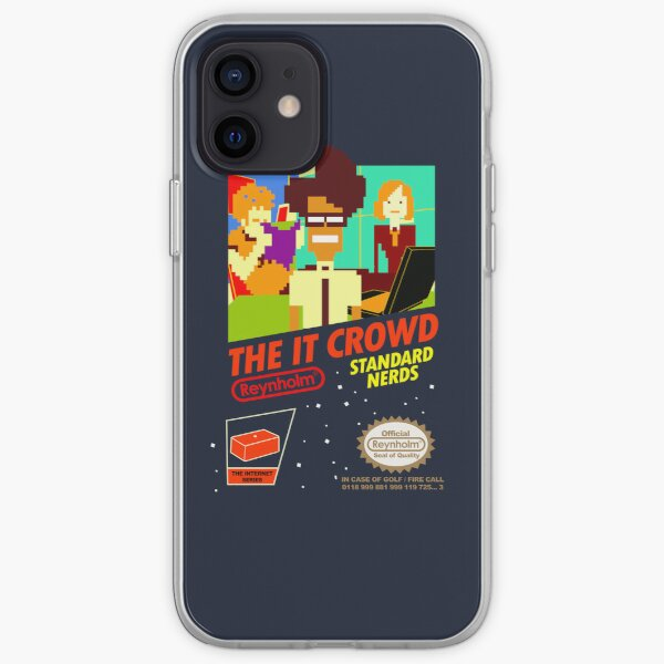The IT Crowd NES game   iPhone Case iPhone Soft Case