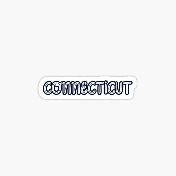 Cute Connecticut Sticker