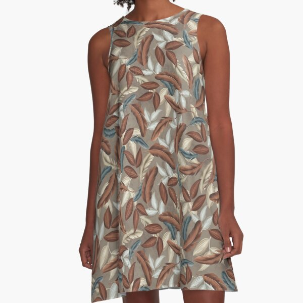 №1 Pattern A-Line Dress