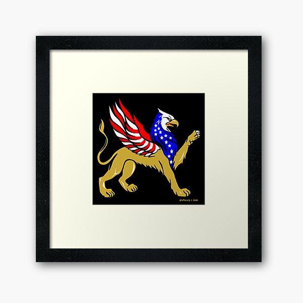 American Griffin Framed Art Print