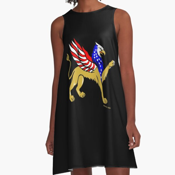 American Griffin A-Line Dress