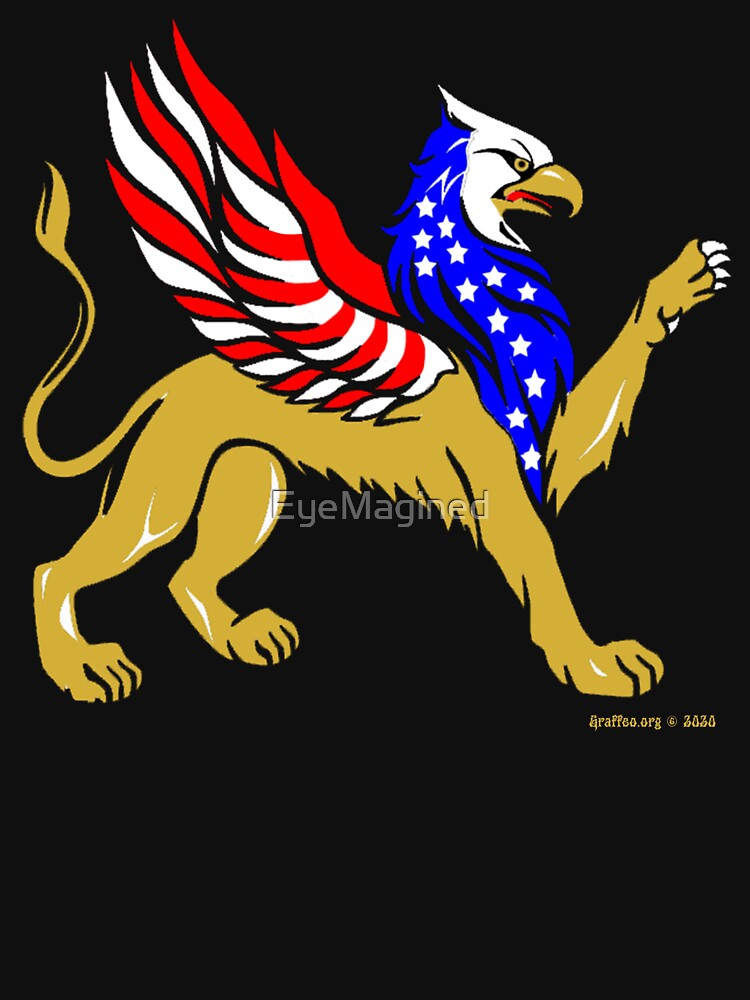American Griffin by EyeMagined