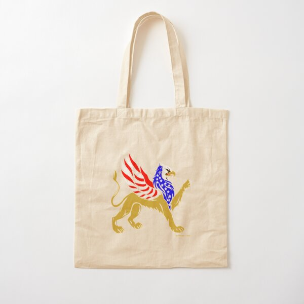 American Griffin Cotton Tote Bag