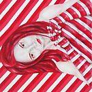 Stripey iPhone case by Jeremy McAnally
