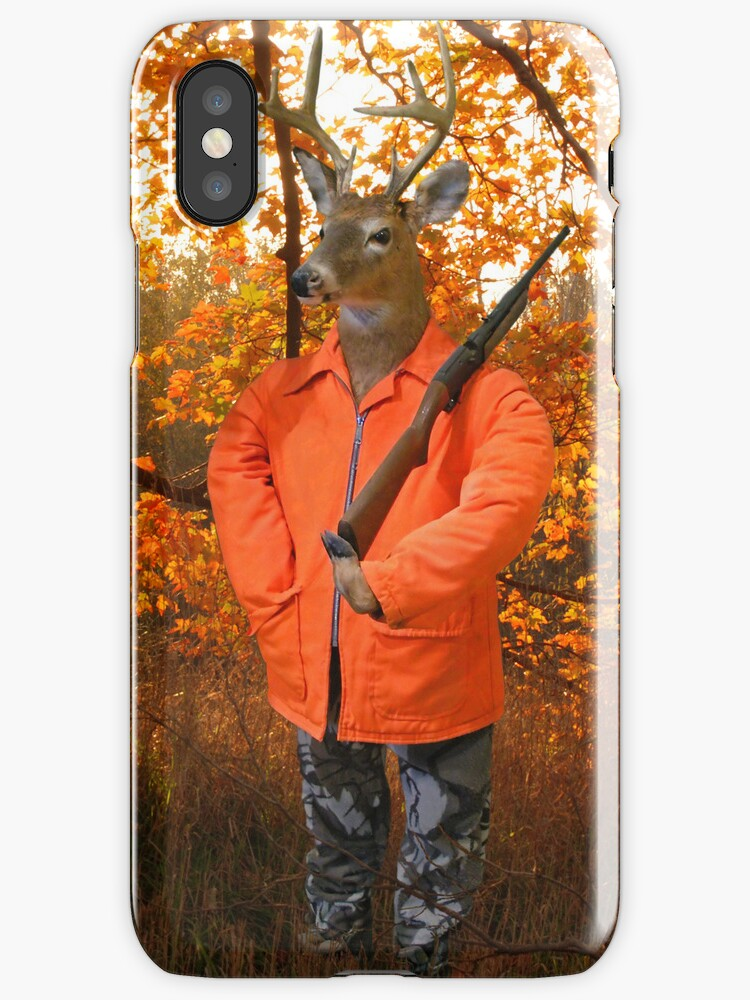 Deer Hunter (iPhone case) by Maria Dryfhout