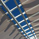 Blue Through Canvas by Fara