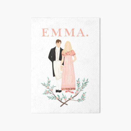 Emma Movie  Art Board Print