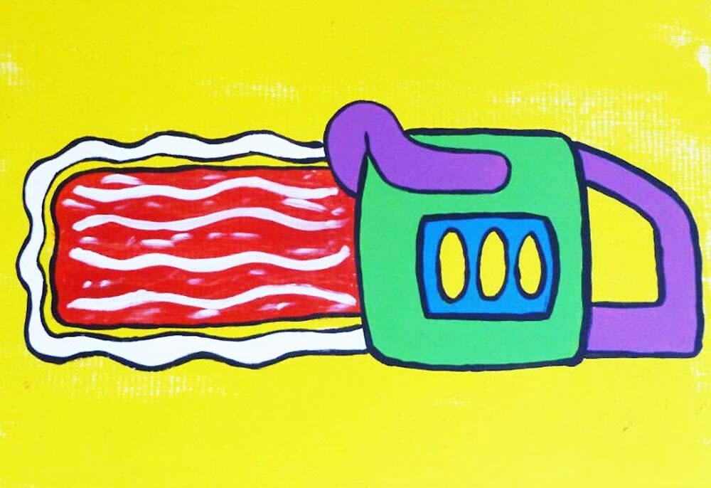 Bacon Chainsaw by actioncalvin