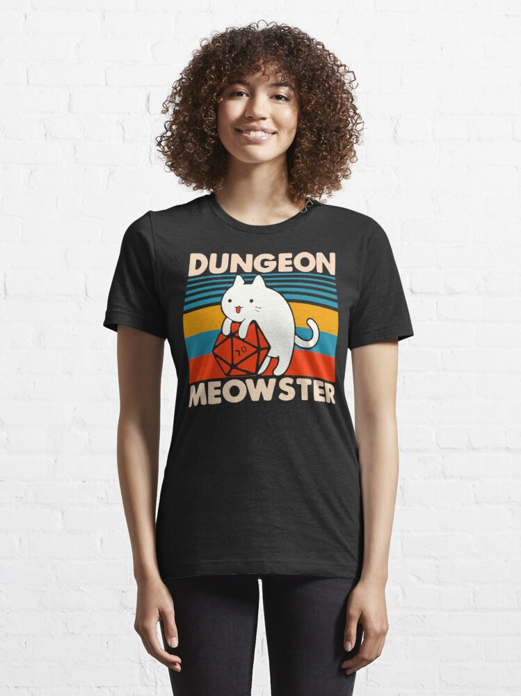Alternate view of Dungeon Meowster Essential T-Shirt