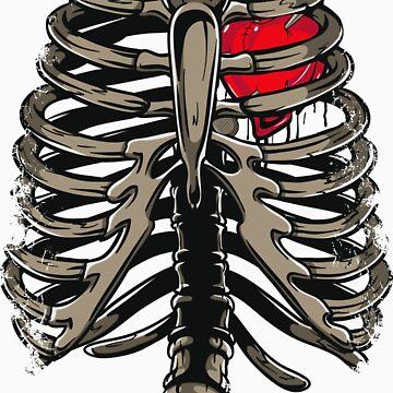 Rib Cage & Heart by KimberlyMarie