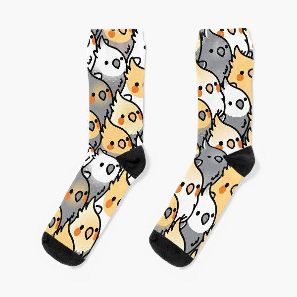 Chubby Cockatiel Party Socks