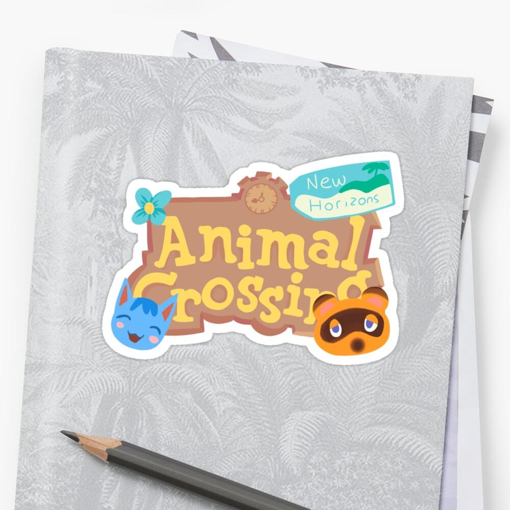 """Animal Crossing New Horizons"" Sticker by snowfleecee ..."