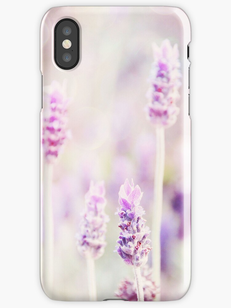 Mauve iphone cover by Carol Knudsen