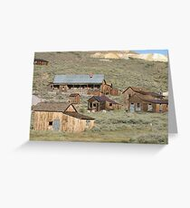 Bodie State Park, CA Greeting Card