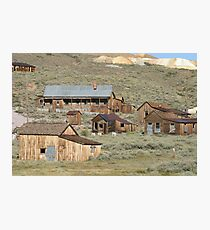 Bodie State Park, CA Photographic Print