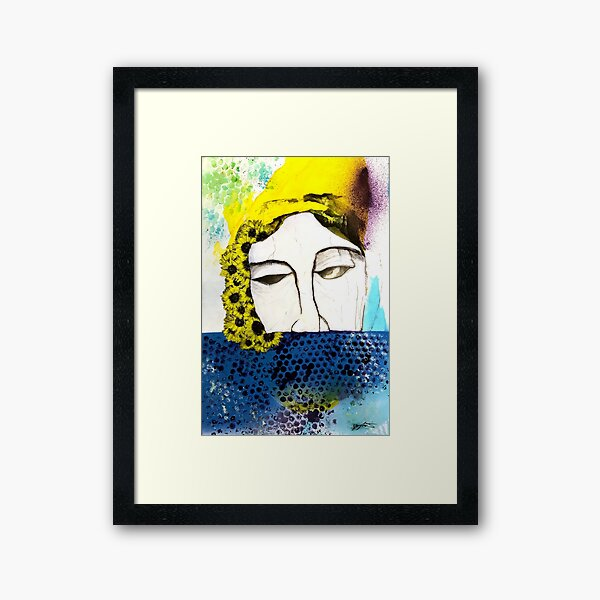 For the Dearly Departed Framed Art Print