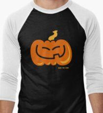 Asian Pumpkin Men's Baseball ¾ T-Shirt