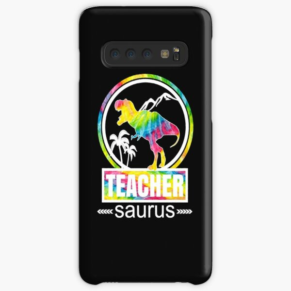 Teachersaurus Dinosaur Funny Teacher School Cute Design Samsung Galaxy Snap Case
