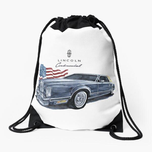 Lincoln Continental  Drawstring Bag