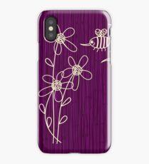 Purple Flowers iPhone Case iPhone Case/Skin