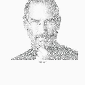 RIP Steve Jobs - Mosaic by wittytees