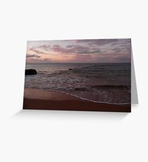 Rose sea: Phillip Island, Australia Greeting Card
