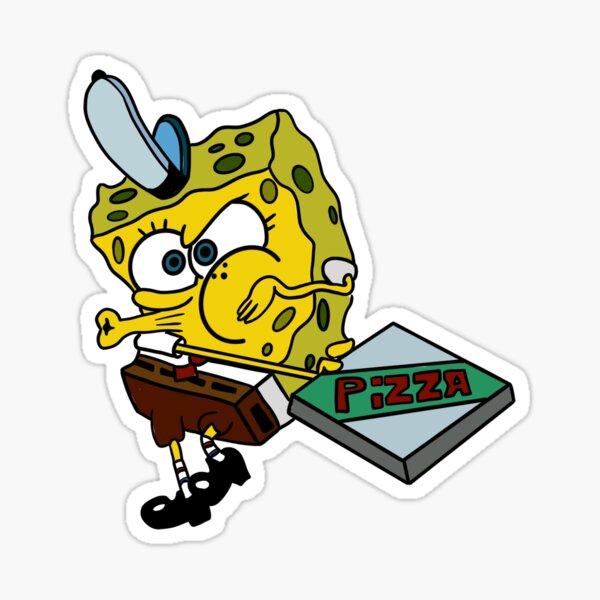 Krusty Krab Pizza Sticker Sticker