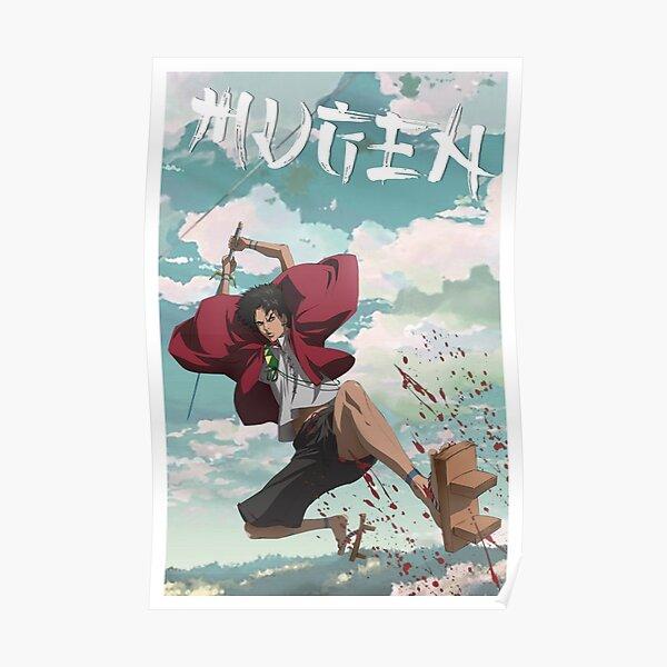Mugen de Samurai Champloo Poster
