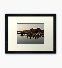 Versailles water 2 Framed Print