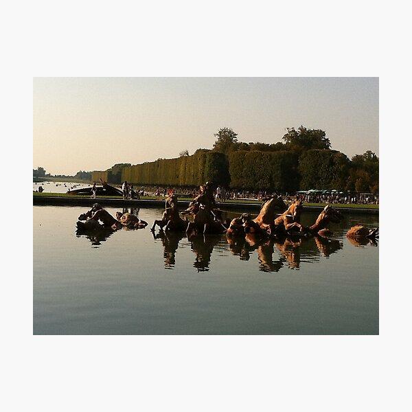Versailles water 2 Photographic Print