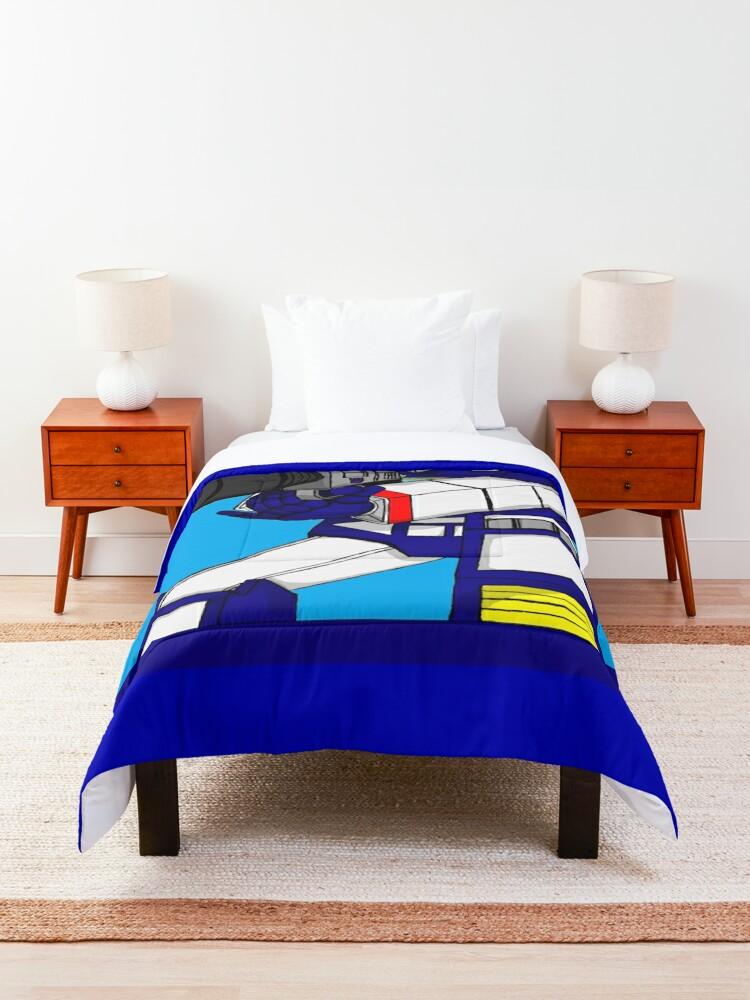 Alternate view of Transformers Soundwave Comforter