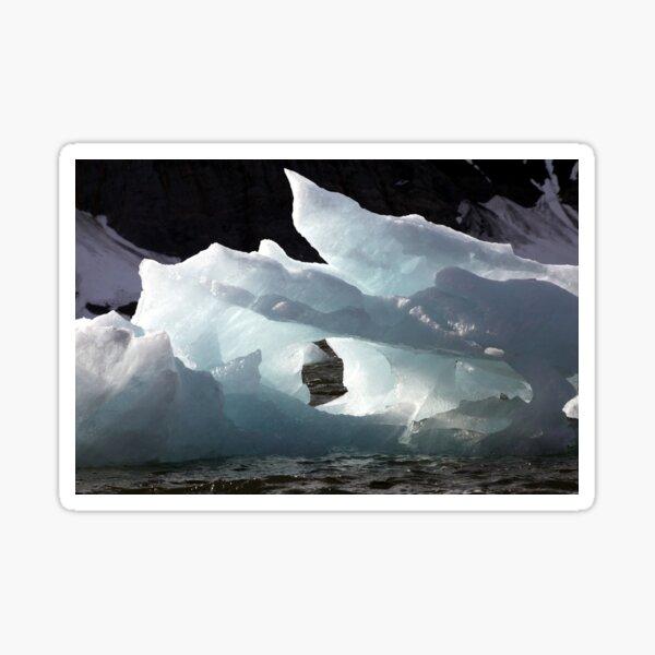 Icebergs Ahead Sticker