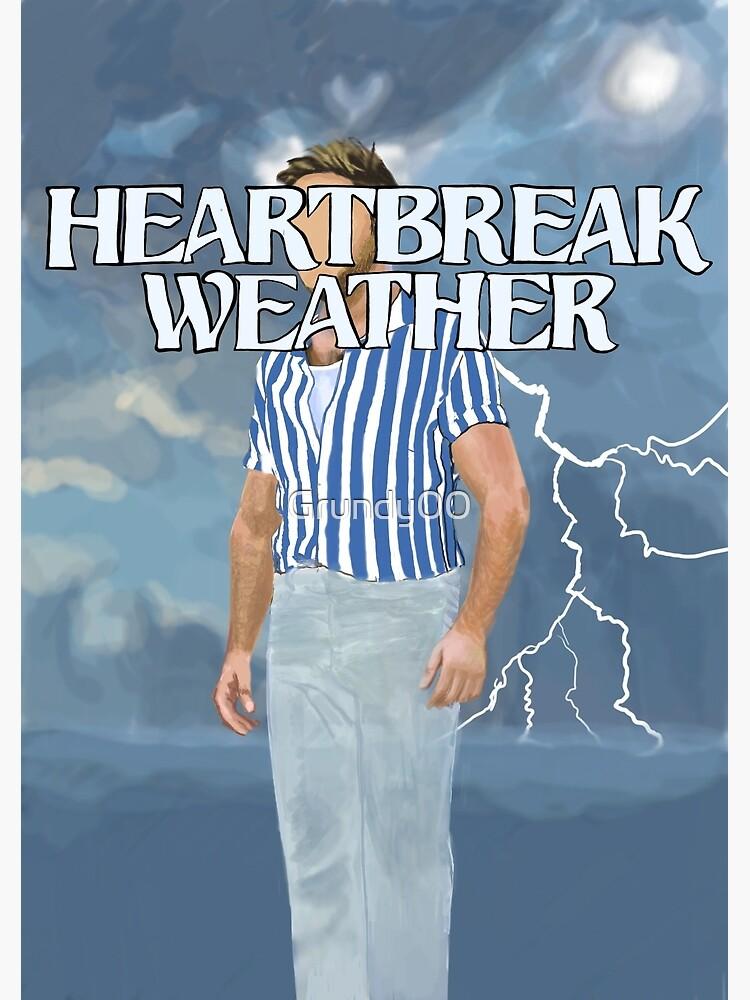 Niall Horan Heartbreak Weather Art Greeting Card By Grundy00 Redbubble