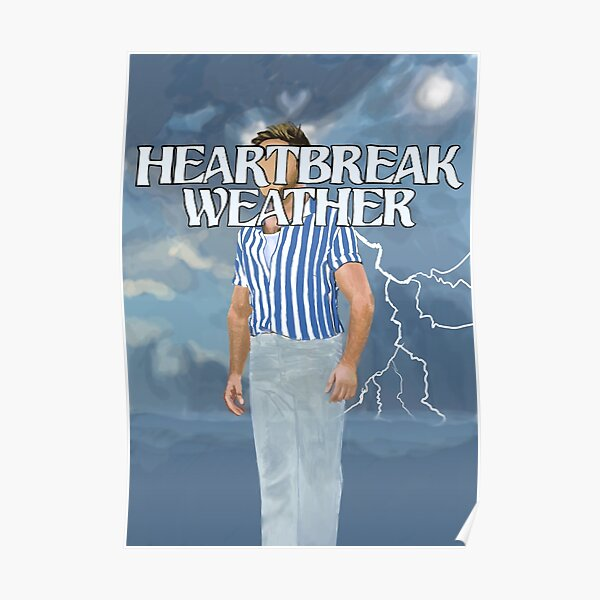 Niall Horan, Heartbreak weather art. Póster