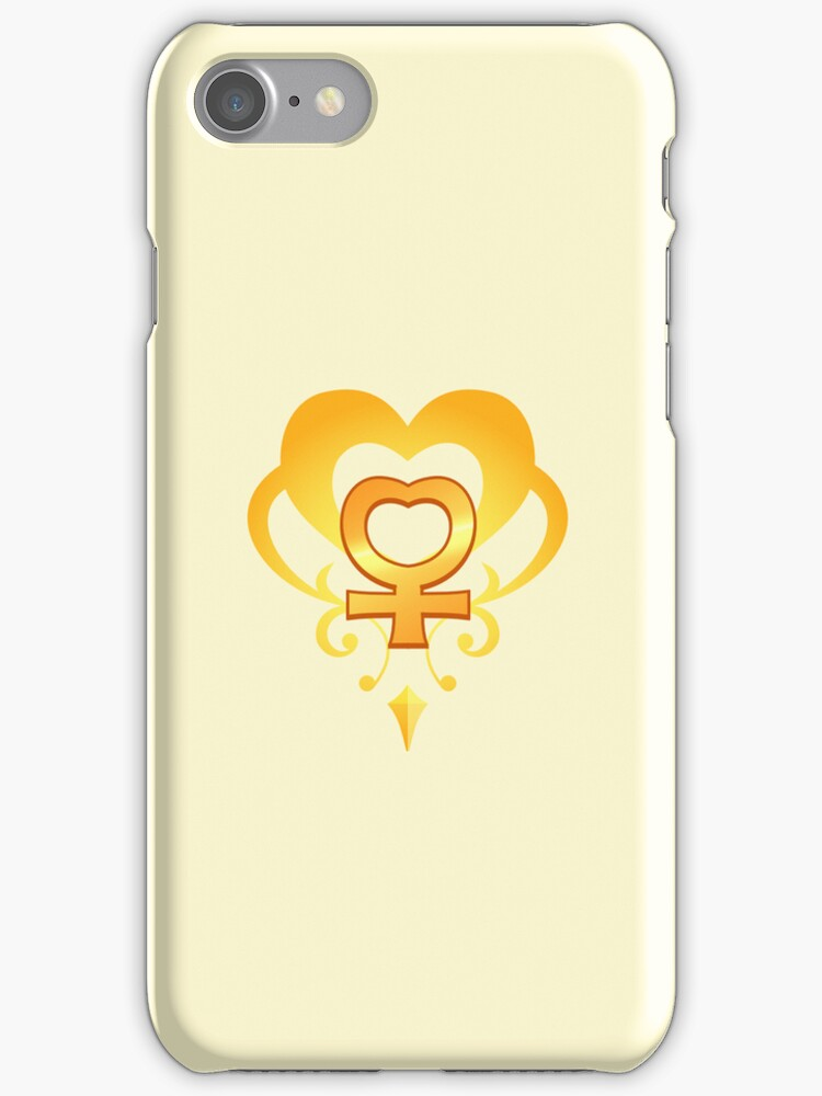 Sailor Moon - Teletia S Venus iPhone Case by DrFrizzy