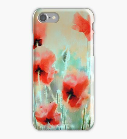 Morning Poppies iPhone Case/Skin