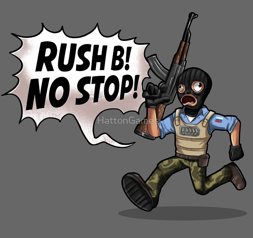 Rush B! No Stop! by HattonGames