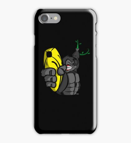 Guns Don't Kill People, Bananas Do! iPhone Case/Skin