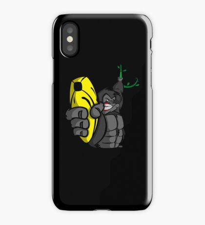 Guns Don't Kill People, Bananas Do! iPhone Case/Skin