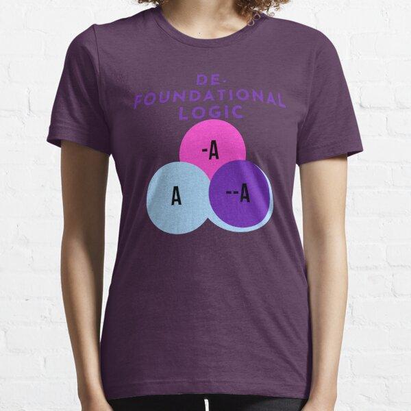 DE-FOUNDATIONAL LOGIC Essential T-Shirt