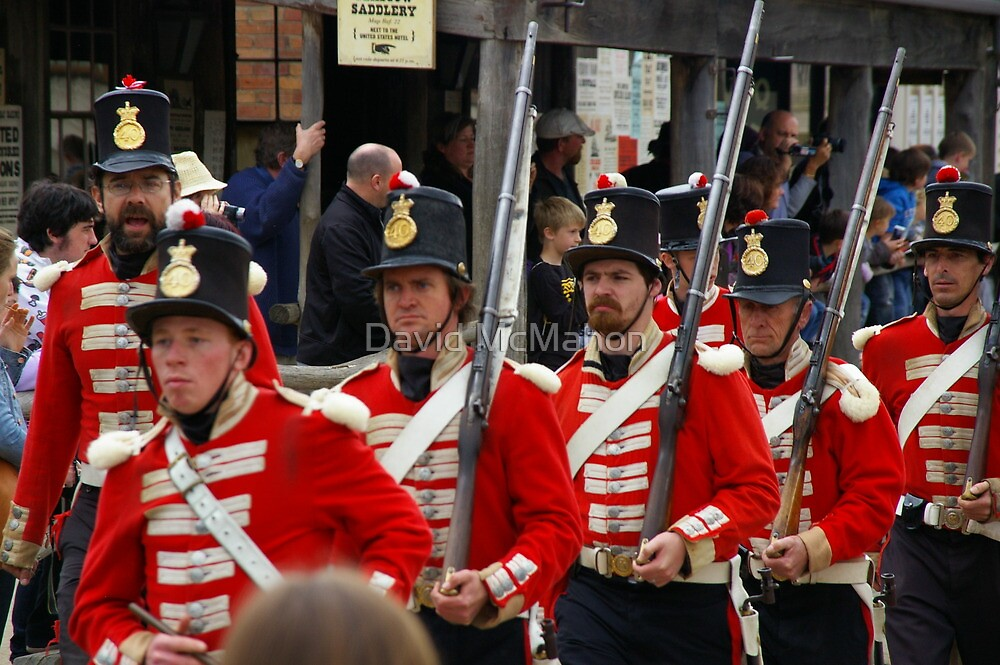 Left, Rite! The Redcoats Are Coming